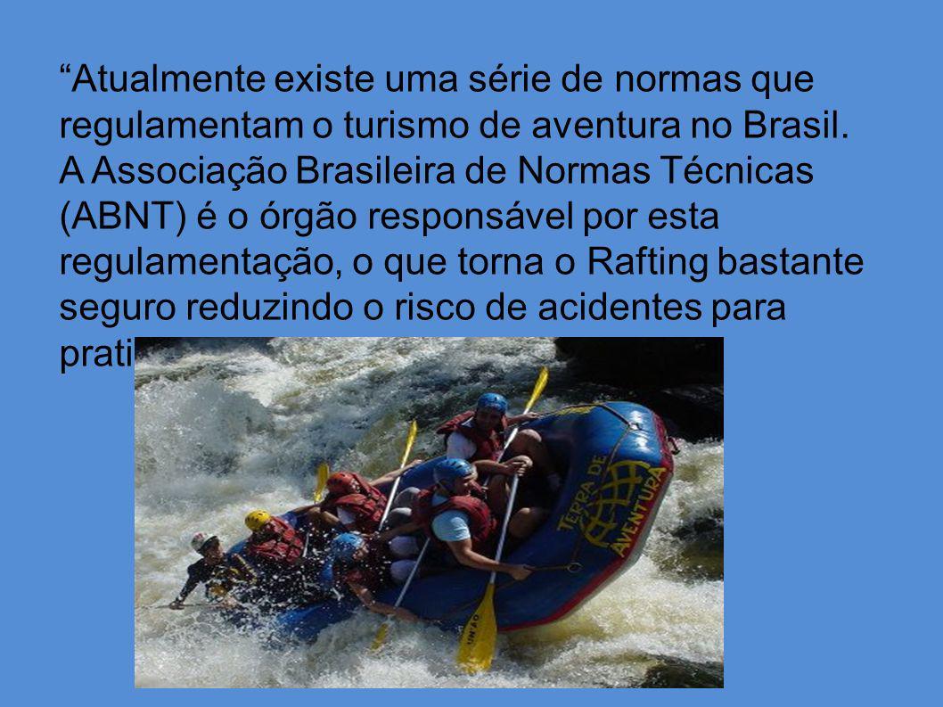 Atualmente existe uma série de normas que regulamentam o turismo de aventura no Brasil.