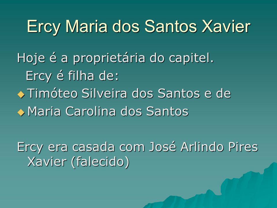 Ercy Maria dos Santos Xavier