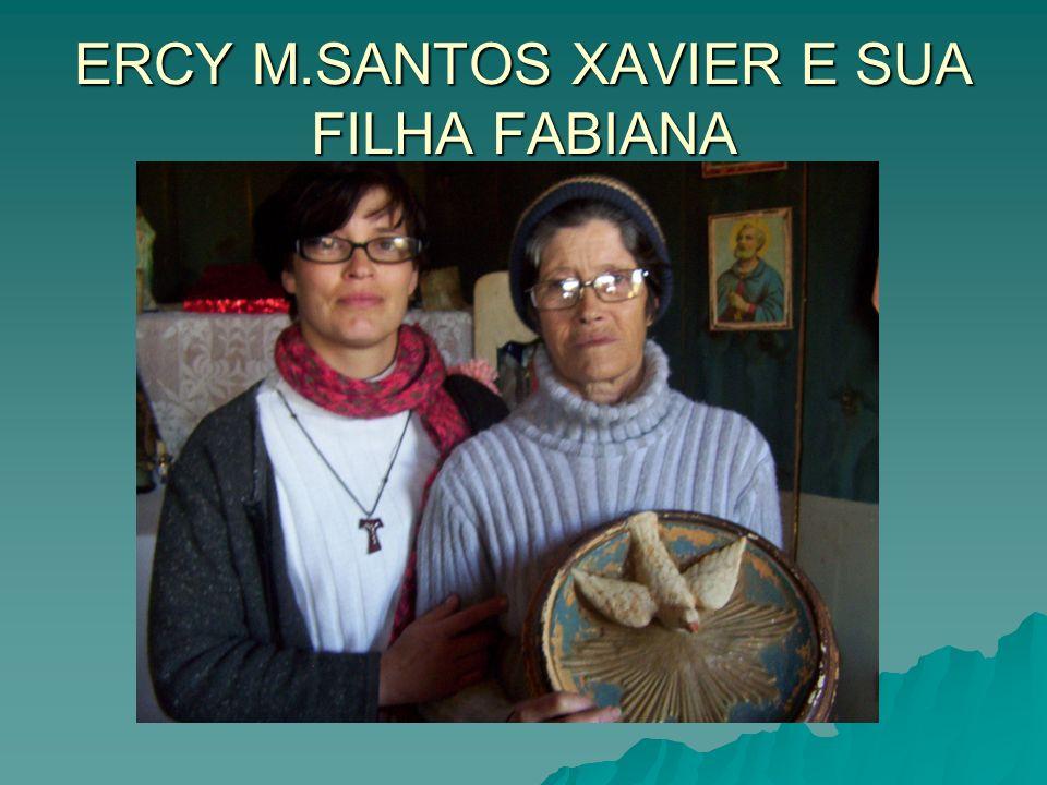 ERCY M.SANTOS XAVIER E SUA FILHA FABIANA