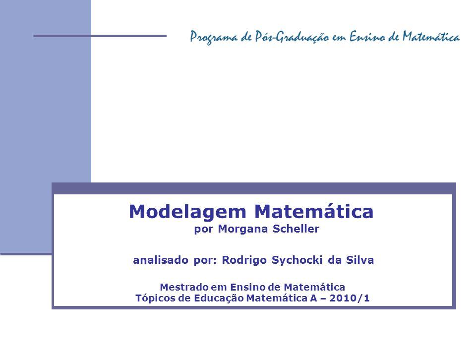 Modelagem Matemática por Morgana Scheller