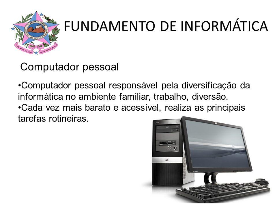 FUNDAMENTO DE INFORMÁTICA