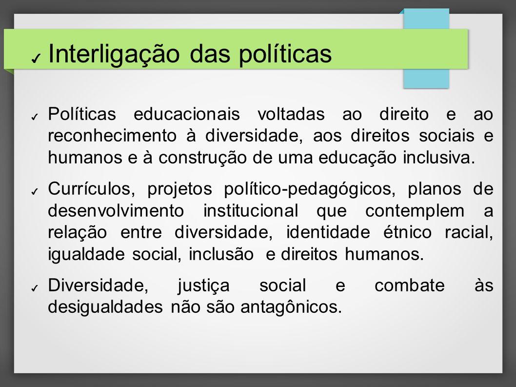 Interligação das políticas