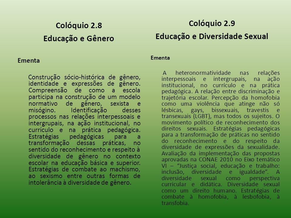 Educação e Diversidade Sexual