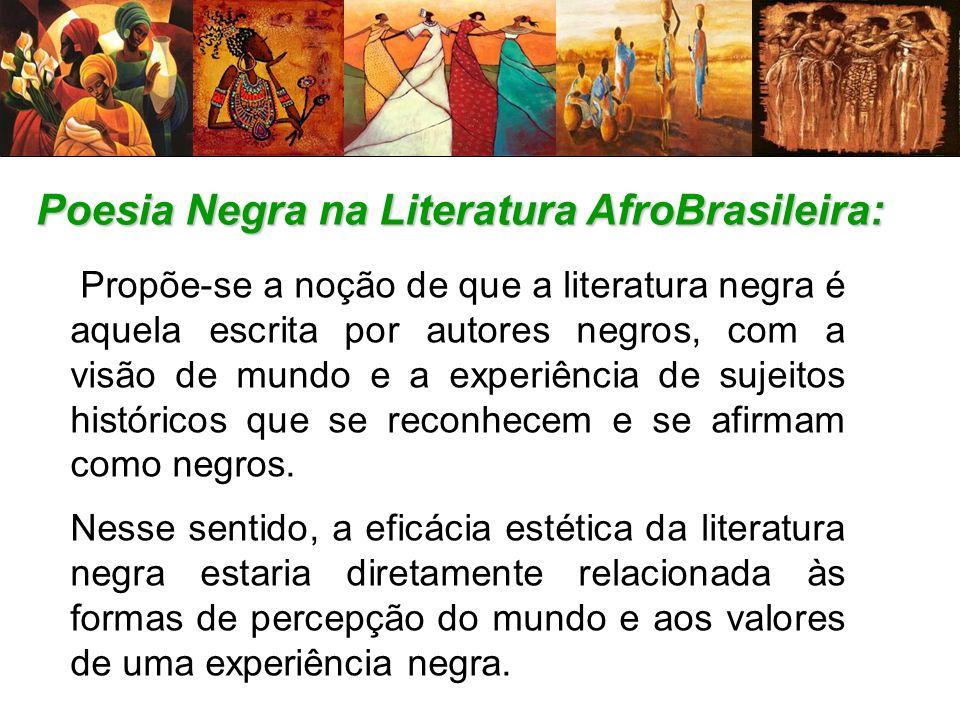 Poesia Negra na Literatura AfroBrasileira: