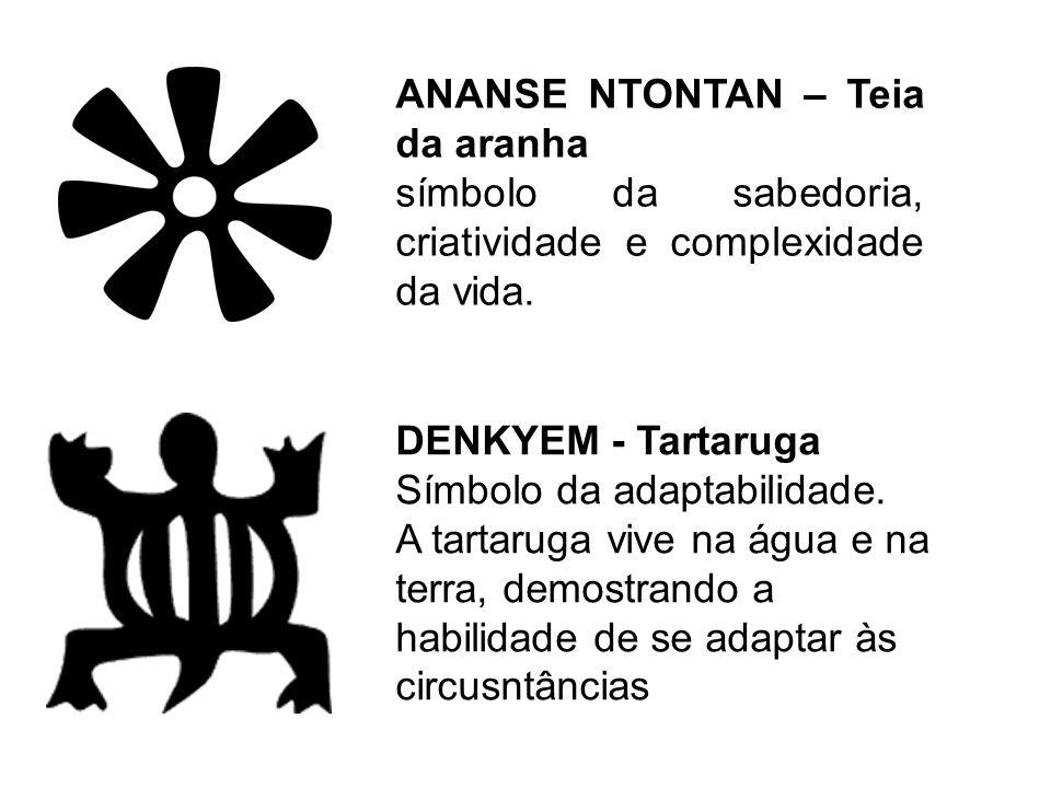 ANANSE NTONTAN – Teia da aranha
