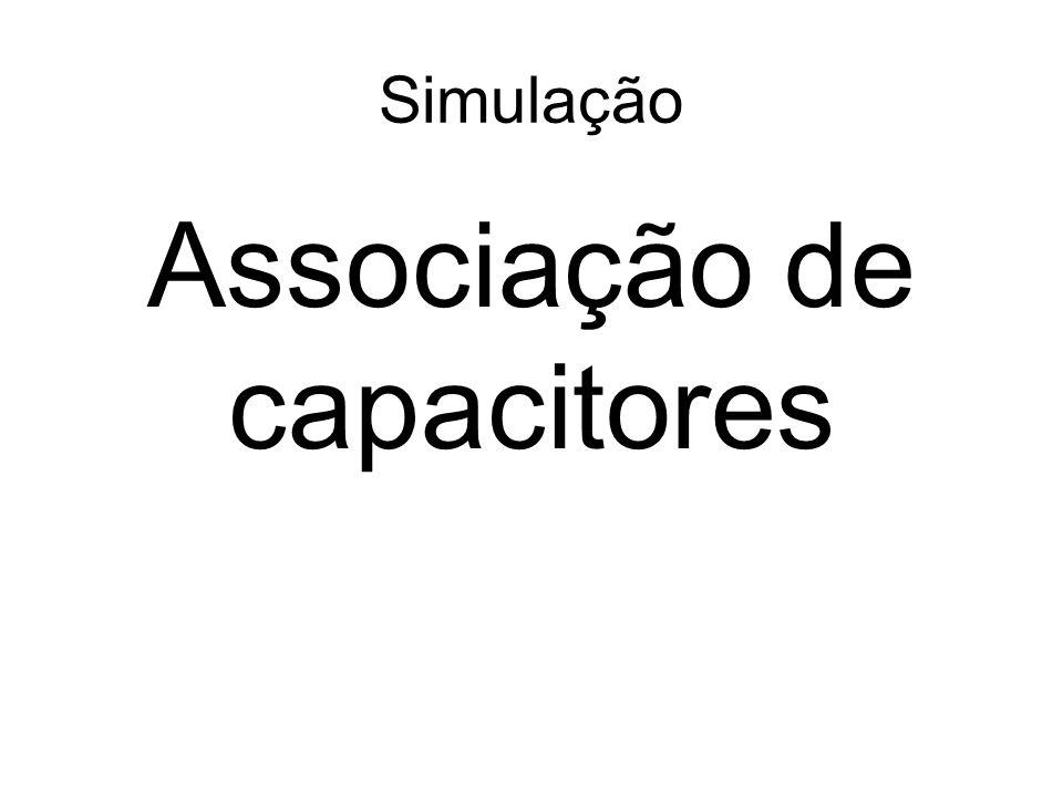 Associação de capacitores