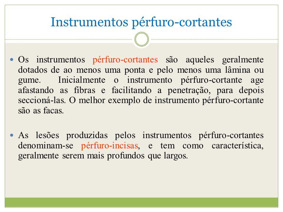 Instrumentos pérfuro-cortantes