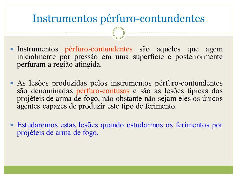 Instrumentos pérfuro-contundentes