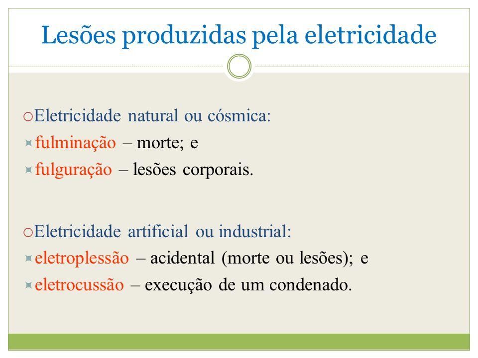 Lesões produzidas pela eletricidade