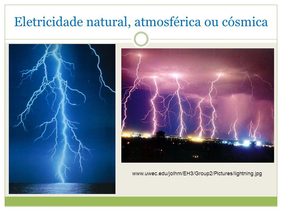 Eletricidade natural, atmosférica ou cósmica
