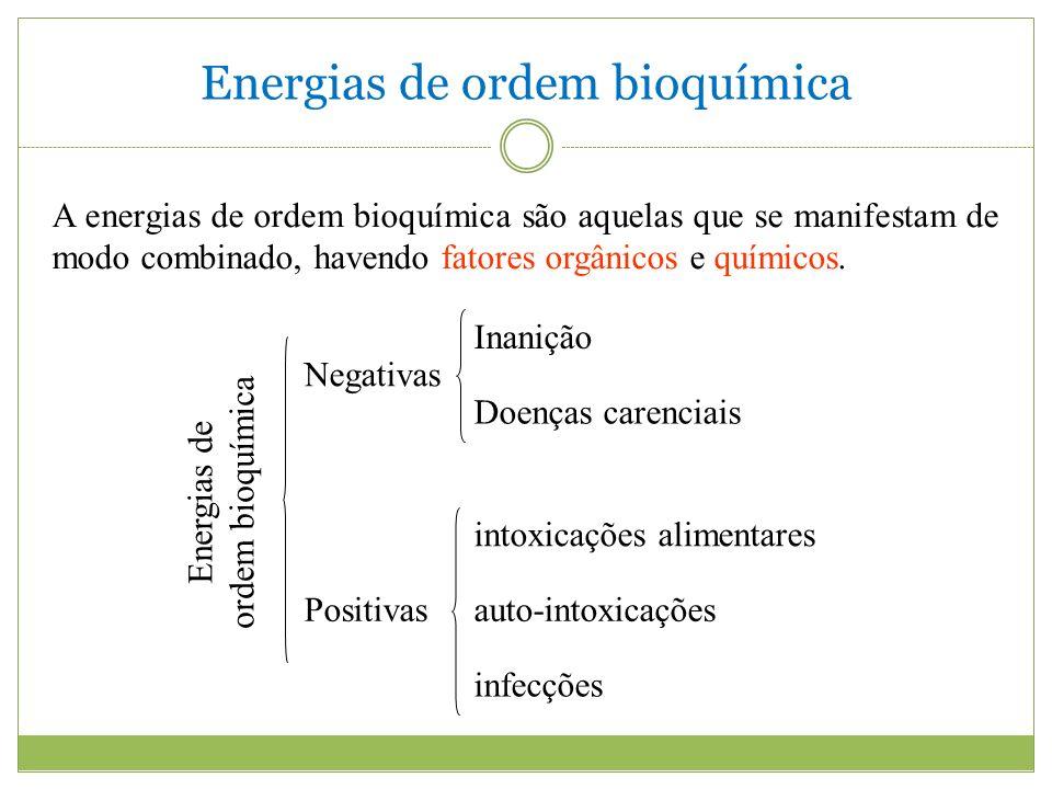 Energias de ordem bioquímica