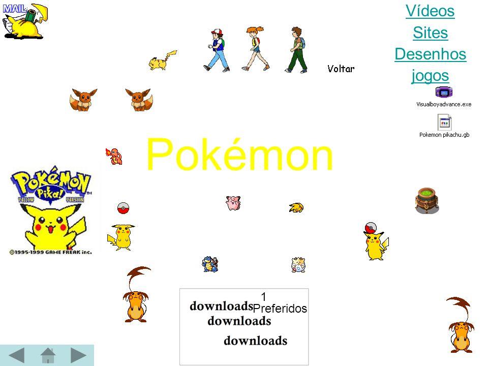 Vídeos Sites Desenhos jogos