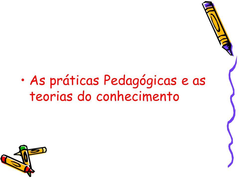 As práticas Pedagógicas e as teorias do conhecimento