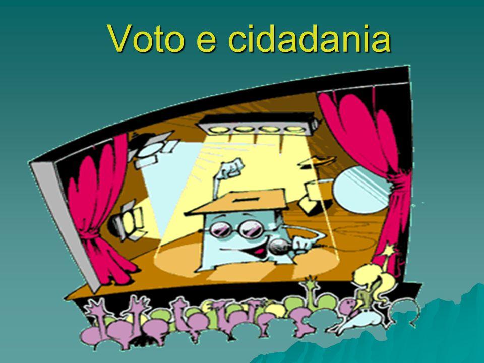Voto e cidadania