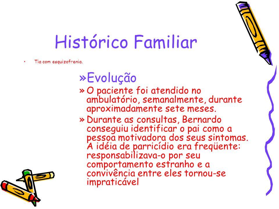 Histórico Familiar Evolução
