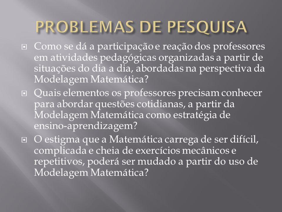 PROBLEMAS DE PESQUISA