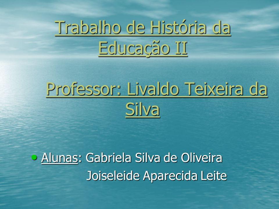 Trabalho de História da Educação II