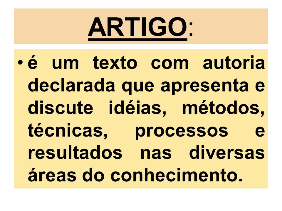 ARTIGO: