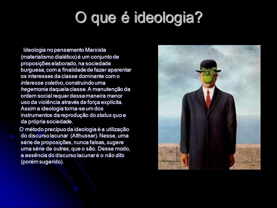O que é ideologia