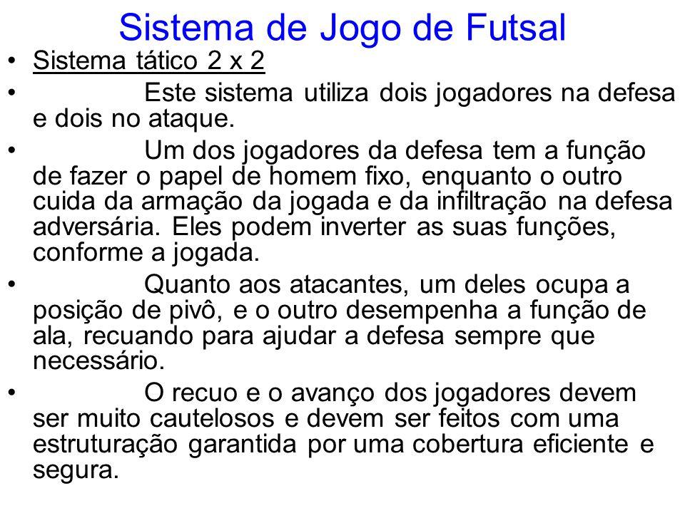 Sistema de Jogo de Futsal