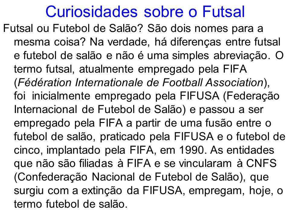 Curiosidades sobre o Futsal