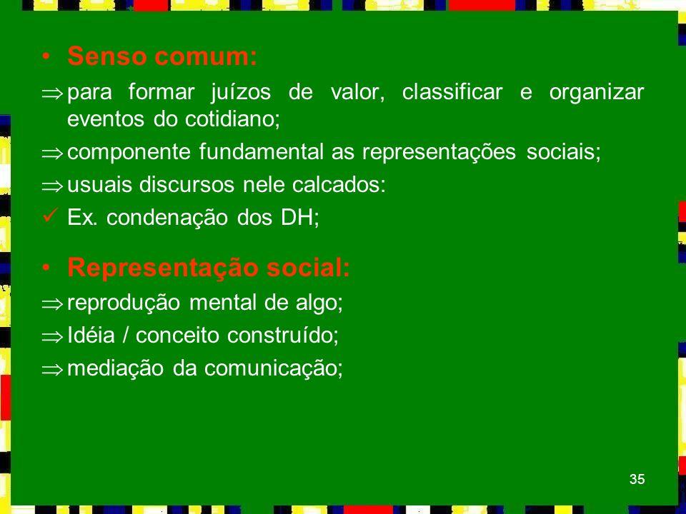 Representação social: