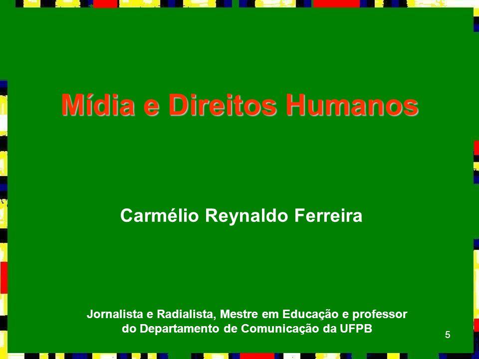 Mídia e Direitos Humanos