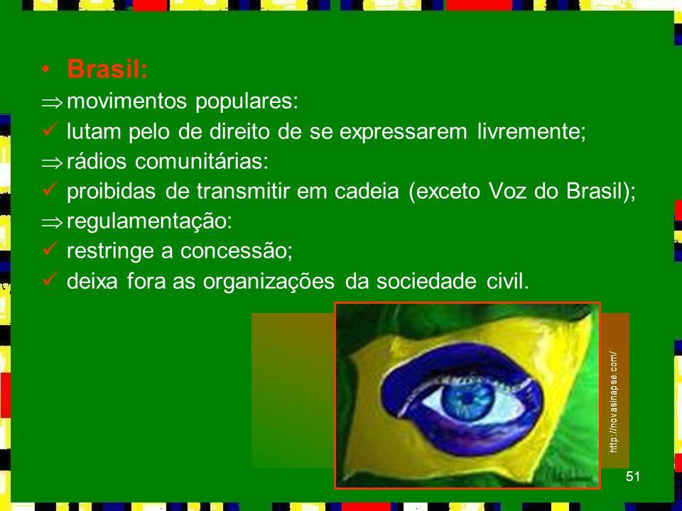 Brasil: movimentos populares: