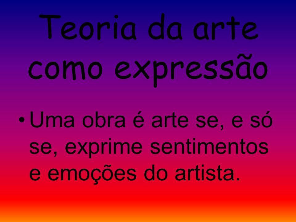 Teoria da arte como expressão