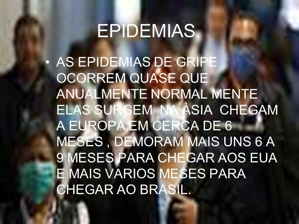 EPIDEMIAS.