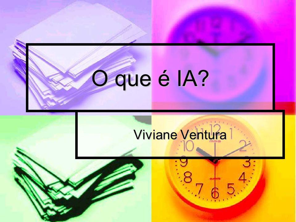 O que é IA Viviane Ventura