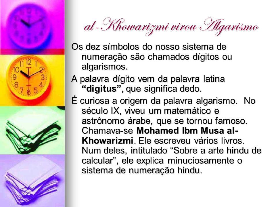 al-Khowarizmi virou Algarismo