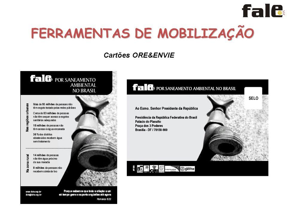 FERRAMENTAS DE MOBILIZAÇÃO