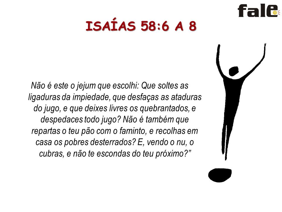 ISAÍAS 58:6 A 8
