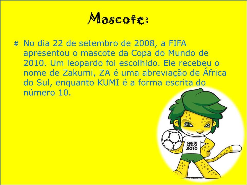 Mascote: