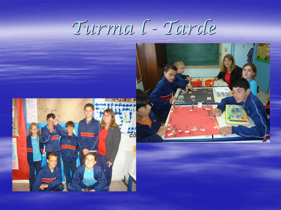 Turma l - Tarde
