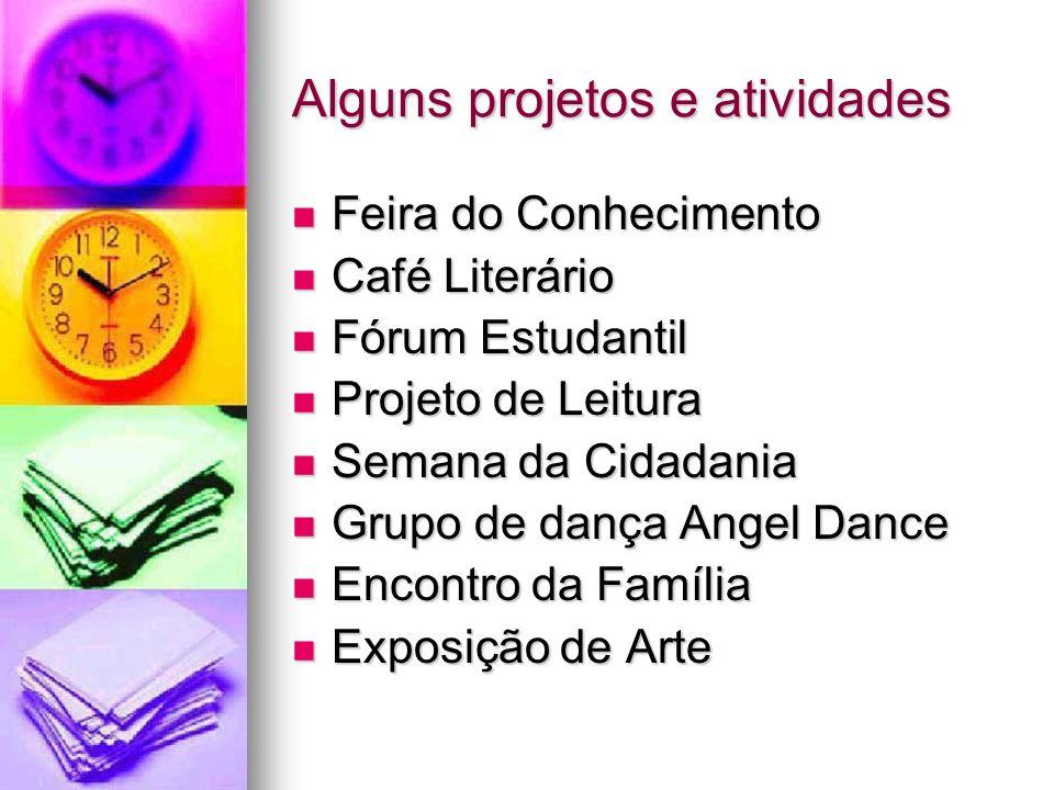 Alguns projetos e atividades