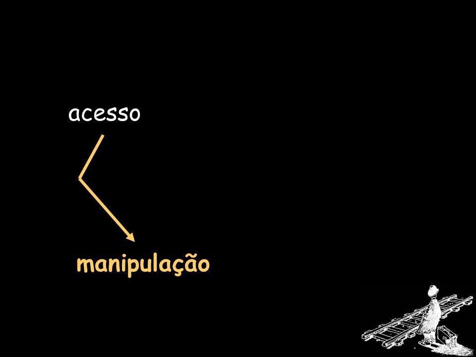 acesso manipulação
