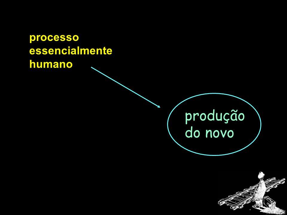 processo essencialmente humano