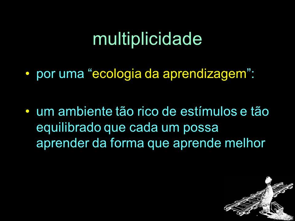 multiplicidade por uma ecologia da aprendizagem :