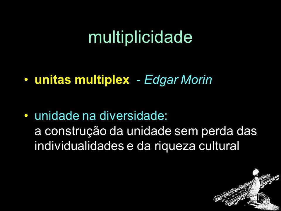 multiplicidade unitas multiplex - Edgar Morin