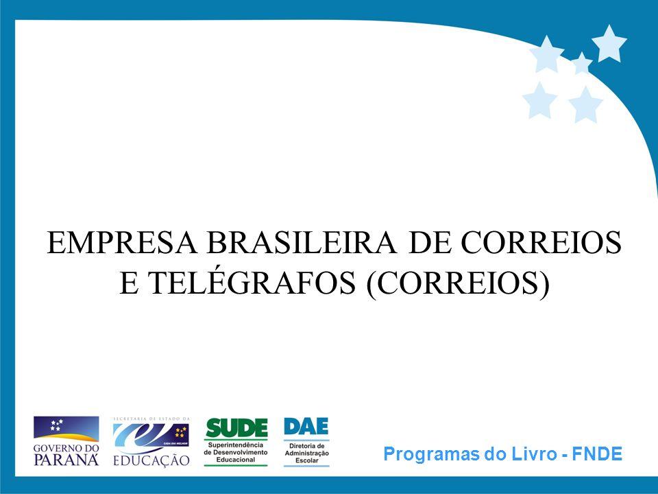 EMPRESA BRASILEIRA DE CORREIOS E TELÉGRAFOS (CORREIOS)