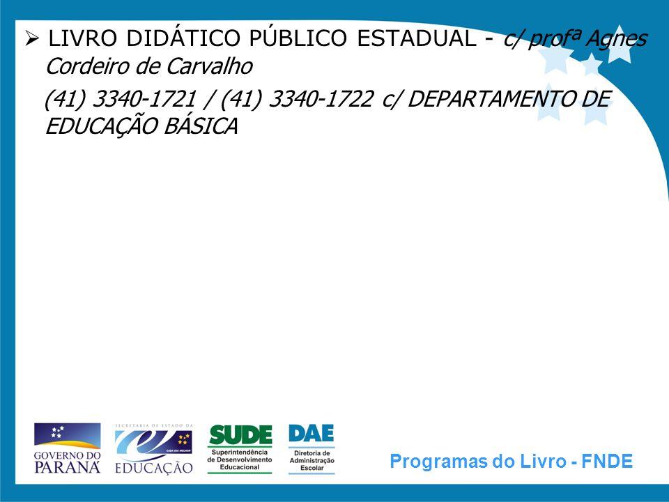  LIVRO DIDÁTICO PÚBLICO ESTADUAL - c/ profª Agnes Cordeiro de Carvalho