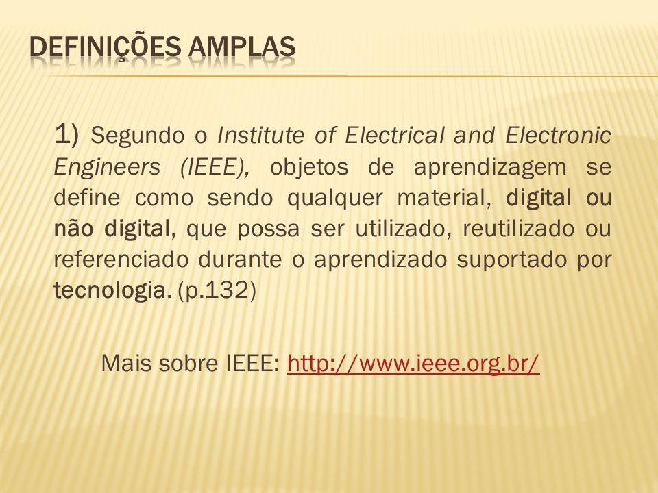 Mais sobre IEEE: http://www.ieee.org.br/