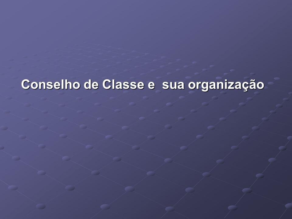 Conselho de Classe e sua organização