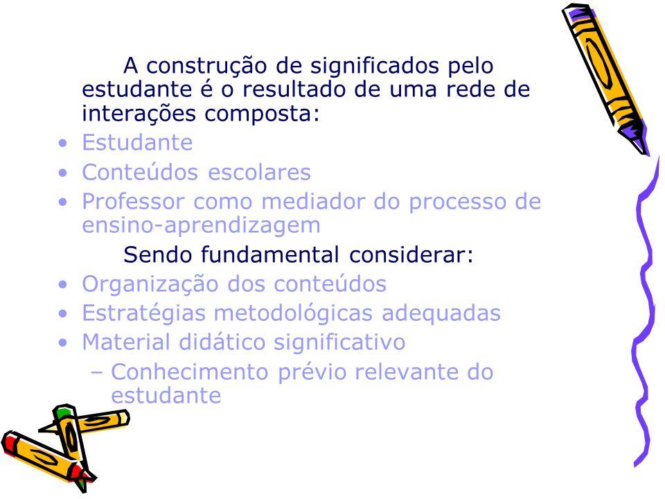 Professor como mediador do processo de ensino-aprendizagem