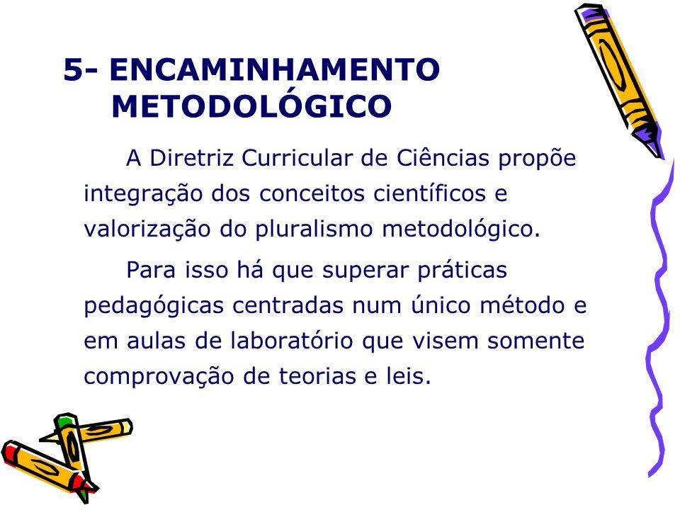 5- ENCAMINHAMENTO METODOLÓGICO