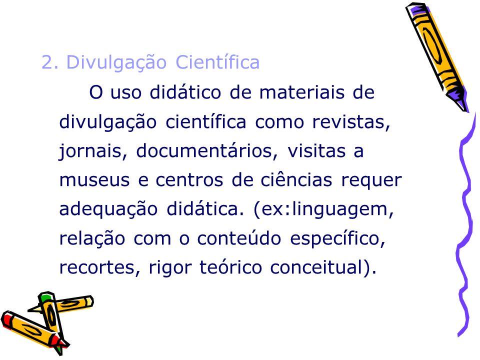 2. Divulgação Científica