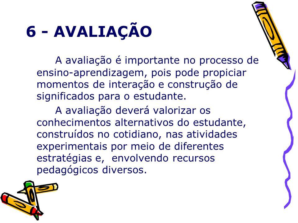 6 - AVALIAÇÃO
