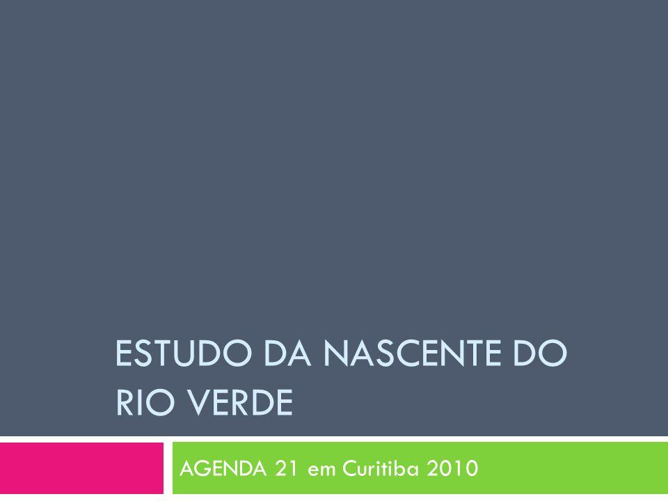 ESTUDO DA NASCENTE DO RIO VERDE